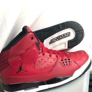 Air Jordan SC-1 High Rare Colorway! Gym Red/Black